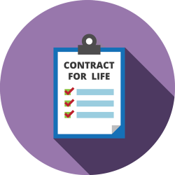 Contract for life
